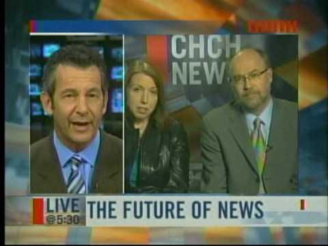 CHCH Live@530 Future of broadcast news in Canada Feb 10/09