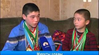 Знаменитые юные боксёры из Узгена
