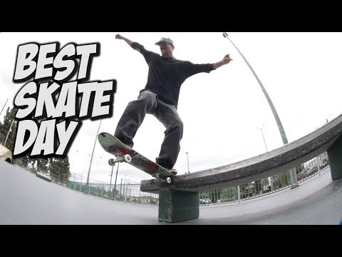 BEST DAY AT THE SKATEPARK !!! - NKA VIDS -