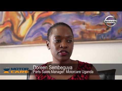 Doreen AN Sembeguya: Parts Manager Motorcare Nissan Uganda