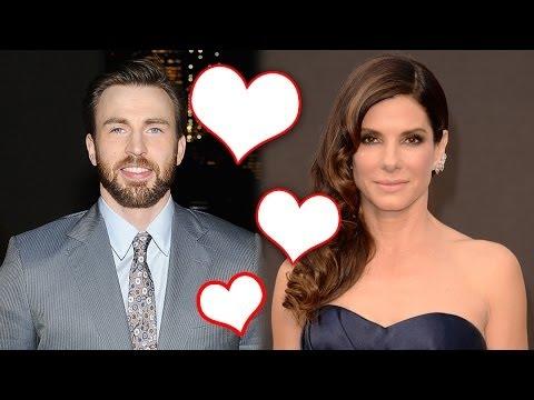 Sandra Bullock Dating Captain America Chris Evans? We Hope So!