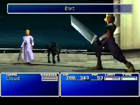 FF7 - LLNIIENANDS challenge - Rufus & Dark Nation