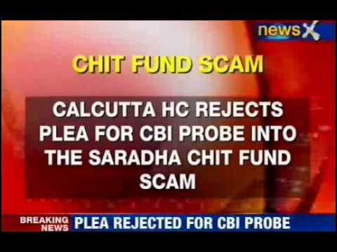Saradha fund scam: HC rejects CBI's plea