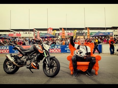 KTM Stuntrider Rok Bagoros in South America 2012