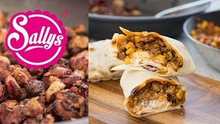 Sallys Tex-Mex-Burritos / Chili-Wraps