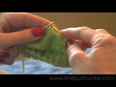 Short Row Heel - Part 2