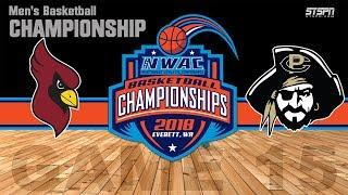 2018 NWAC Men's Basketball Championship - North Idaho vs. Peninsula
