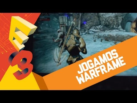 Jogamos Warframe (Free-to-Play para PS4) [BJ na E3 2013] Gameplay