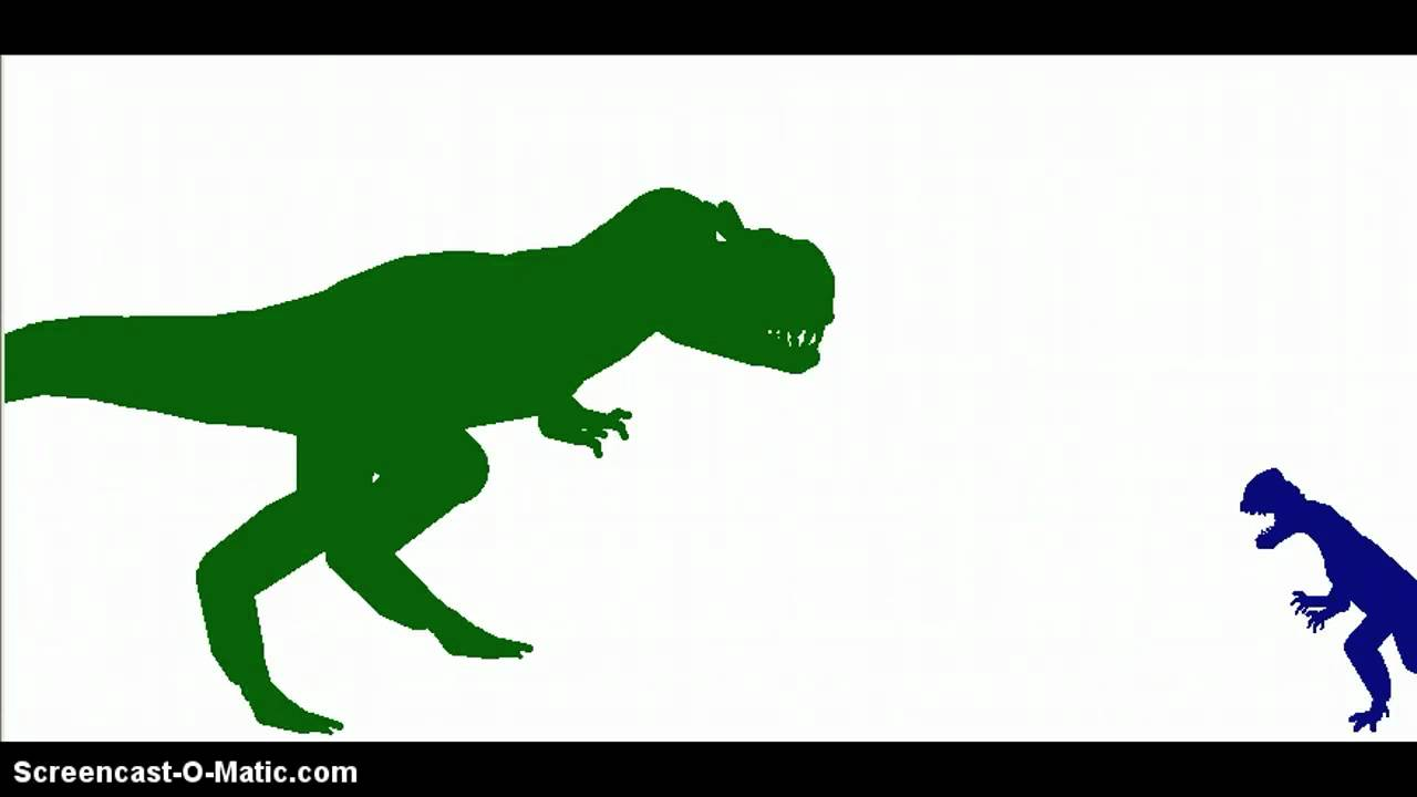 T rex skeleton EnchantedLearningcom