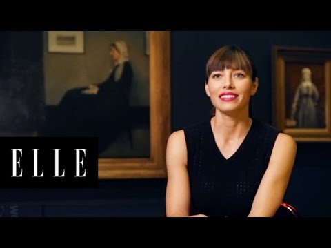 Jessica Biel's January 2013 ELLE Cover Shoot