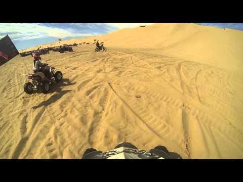 glamis buttercup hill climb suzuki ltz400 and honda trx450