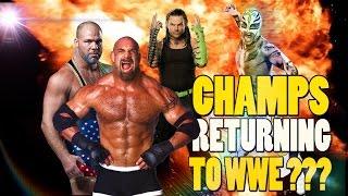 Goldberg Kurt Angle Jeff Hardy Returning To WWE in 2016?