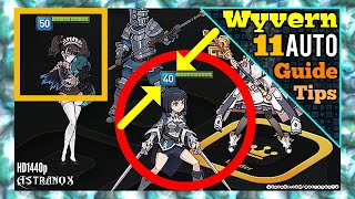 EPIC SEVEN Wyvern 11 Auto Team [Alexa Mistychain Taranor Guard Angelica] Gameplay Epic 7 Guide Tips