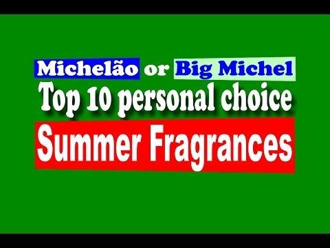 Dicas Perfumes Masculinos Verão / Summer Fragrances - with subtitles