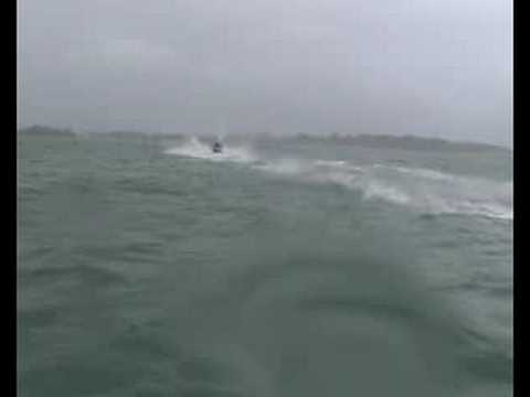 Jetskifishing set up on Yamaha FX HO 160