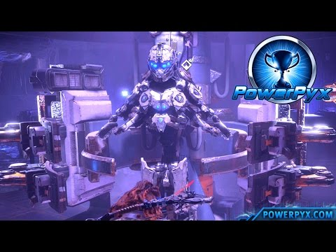 Horizon Zero Dawn - How To Get Secret Shield-Weaver Armor - All Power Cell Locations (Invincibility)