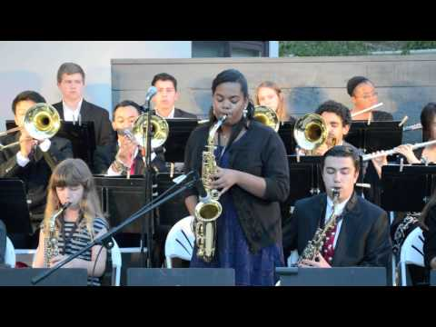 Bishop Montgomery High School Jazz Night 2014 Part 1: BMHS Jazz Band