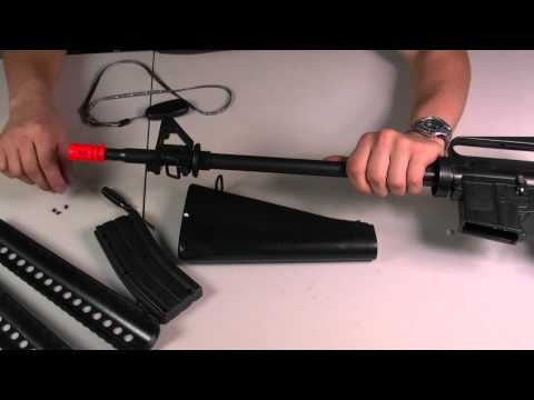 HitGuns.com - Airsoft Gun Guide - Well M16A1 / A2 Spring Airsoft Rifle Assembly Tutorial
