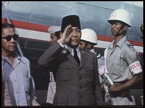 Indonesia, The Nation Under President Sukarno In 1955 video