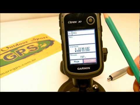 TUTORIAL ETREX 30 - Como marcar um ponto (wpt)