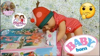Baby Born Doll Videos| Opening Baby Born Advent Calendar 10th Surprise With Elly🎄What Is This?! 🎁