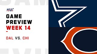 Dallas Cowboys vs Chicago Bears Week 14 NFL Game Preview