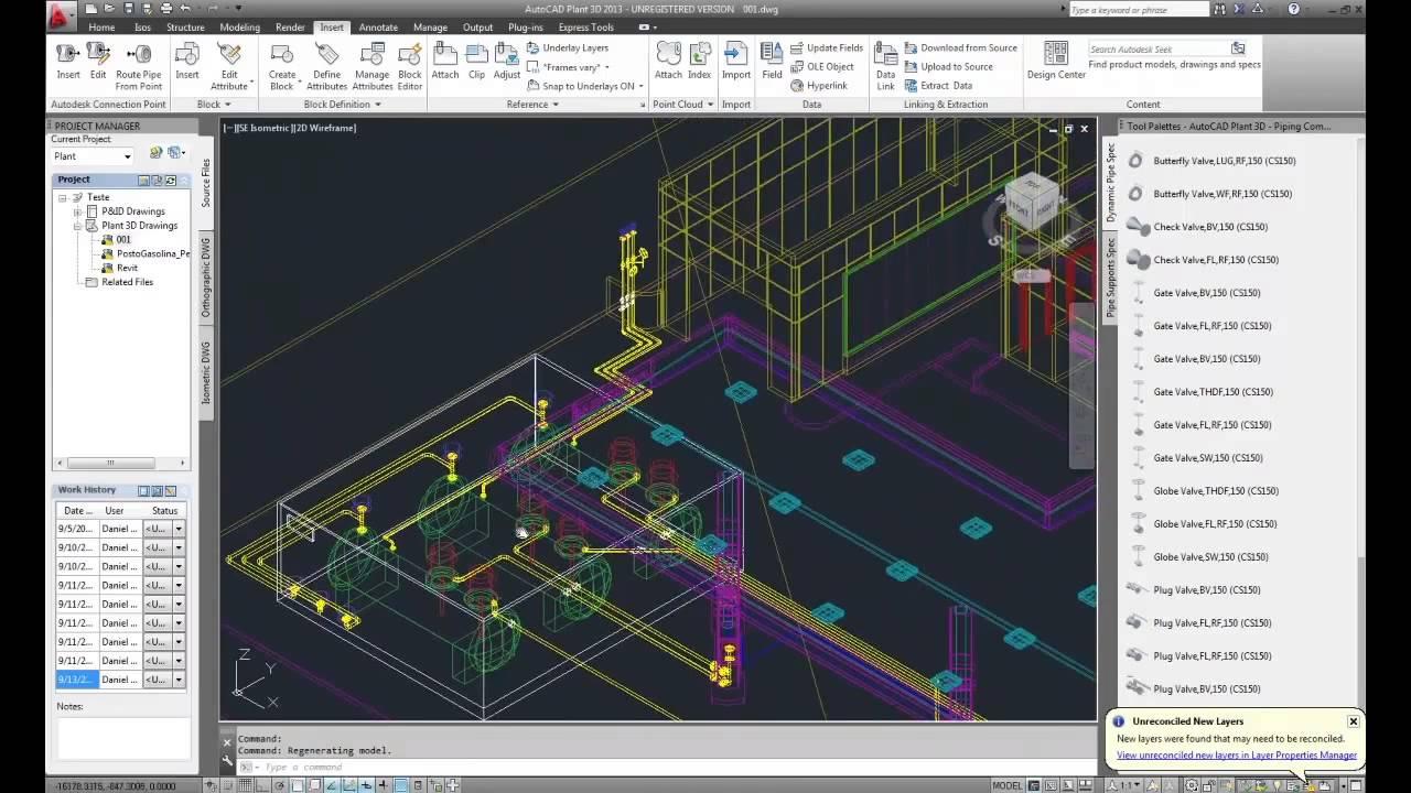 Find A Gas Station >> Gas Station - AutoCAD Plant 3D e Autodesk Revit. - YouTube