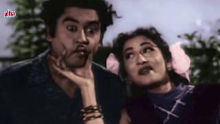Aankhon Mein Tum Ho - Kishore Kumar, Madhubala, Half Ticket Song (duet)