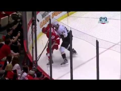 Pavel Datsyuk finds the back of the net on the backhand 5/10/13