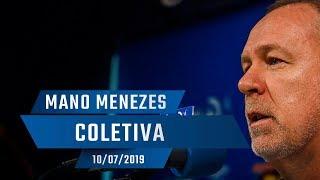10/07/2019 - Coletiva: Mano Menezes