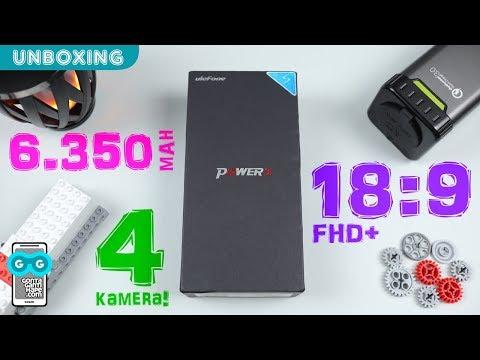PERTAMA! Android Layar 18:9 dengan Baterai BESAR 6.350 mAh! Unboxing Ulefone Power 3s