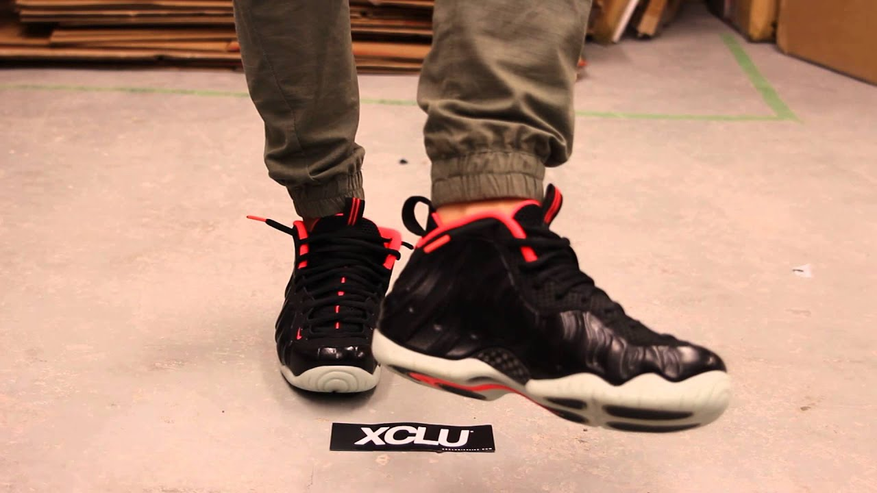 joggers with foamposite asteroid - photo #15