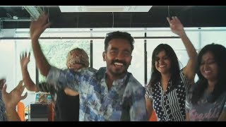 Radio Mango Team Dancing With Appani Ravi (Sarath Kumar) To The Song Jimikki Kammal
