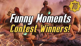 Fallout 76 Funny Moments Contest Winners! #Fallout76