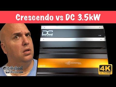 Crescendo BC3500D vs DC Audio 3.5k Amp Dyno Test Comparison (4K)