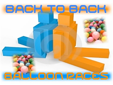 BACK TO BACK BALLOON RACE