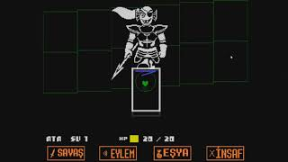 Undertale|Bölüm 7|Undyne Fight Ve Date