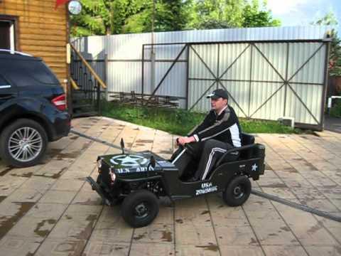Детские бензиновые автомобили своими руками 58