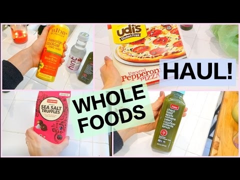 Whole Foods Grocery Haul 2015!!