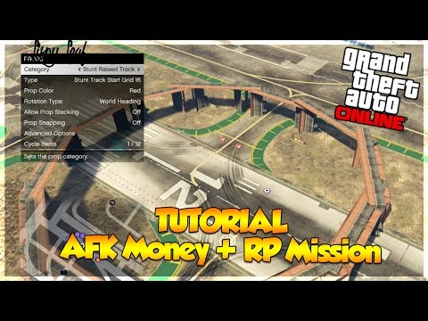"GTA 5 Online Create ""AFK Money + RP Mission!"" (ALL Consoles) (GTA 5 MONEY)"
