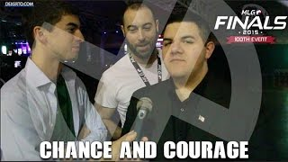 Chance And Courage Interview At MLG World Finals