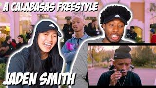 JADEN SMITH - A CALABASAS FREESTYLE   MUSIC VIDEO REACTION