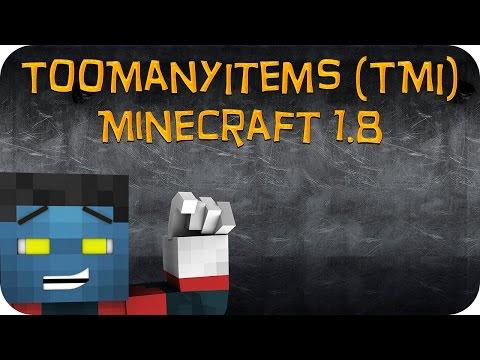 Como Instalar Mods no Minecraft 1.8 TooManyItems TMI