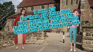 Video: In 1 John 5:7, the Christian Trinity is a mystery? - Simon Brown