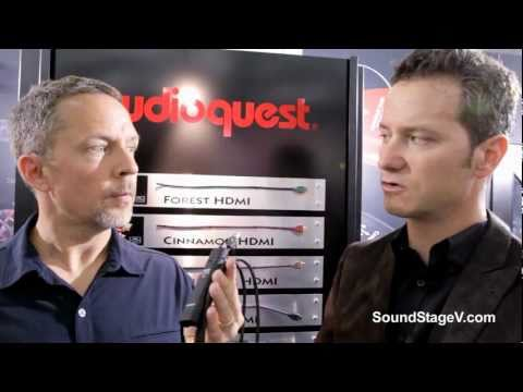 SoundStageNetwork.com: High End 2011 Highlights: AudioQuest on Computer-Audio Cables