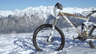 Downhill Snow Biking - Bike vs Skis