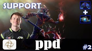ppd - Dazzle Safelane | SUPPORT | Dota 2 Pro MMR Gameplay #2