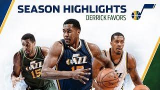 2014-15 Season Highlights: Derrick Favors