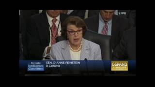 Feinstein questions Comey