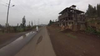 Driving  Gondar Ethiopia
